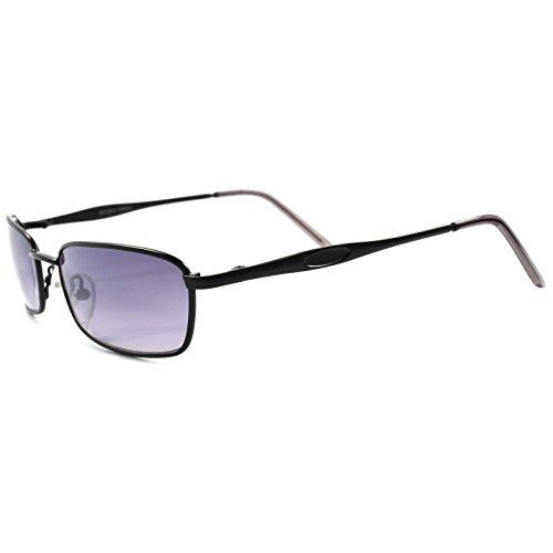 Deadstock Vintage Retro 70s 80s Urban Fashion Black Small Rectangle - Deadstock Sunglasses