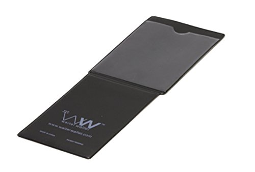 Two Servers - Waiter Wallet Jr. Clear Pocket Insert   Waitstaff Server Book Cheat Sheet Insert   Double Sided Adds Two Clear Pockets to Waitress or Waiter Organizer   Works With Waiter Wallets Free Templates