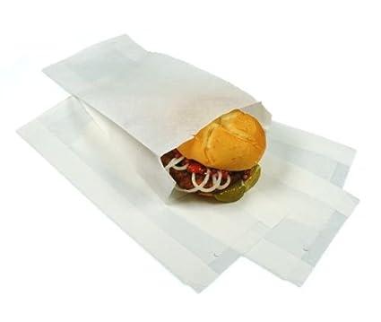 Bolsas de pan/arrugas sin bolsa impermeable a la grasa ...