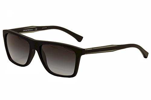 Emporio Armani Men's 0EA4001 Black Sunglasses