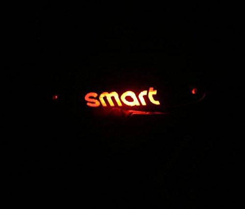 Adesivo sticker fibra carbonio terzo stop auto