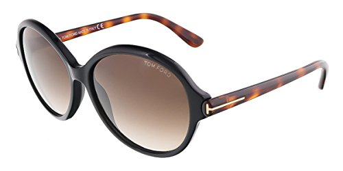 Tom Ford Sunglasses - Milena / Frame: Brown with Havana Temples Lens: Brown - Sunglasses 2014 Ford Tom