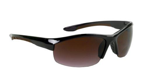 Select-a-Vision Coppertone Aero Sport Sunglass Readers, Brown, - Sunglasses 1.25