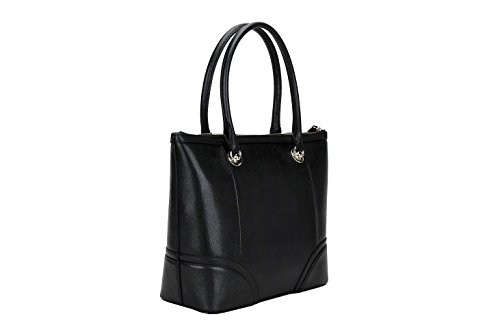 7462V borsa donna LOVE MOSCHINO ecopelle saffiano eco leather black bag woman Nero