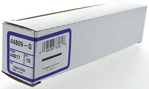 Hillman 44816 6-32 x 6-Inch Zinc Threaded Rod 12-Pack