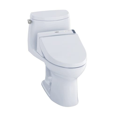Best One Piece Toilet: TOTO MW6042044CUFG#01 WASHLET+ UltraMax II