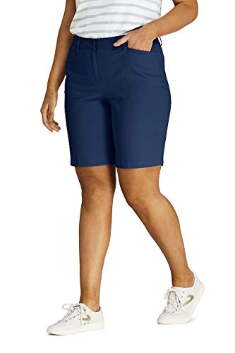 (Lands' End Women's Plus Size Mid Rise 10