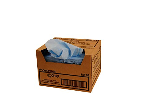Chicopee Chix Foodservice Towel Blue - 150 sheets per case.