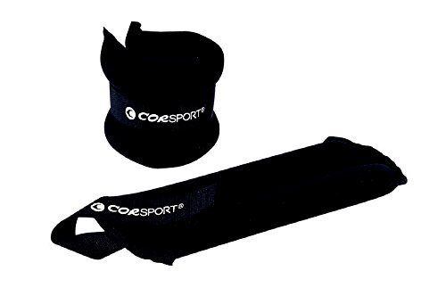 Poignet Cheville Fermeture avec Velcro Lester Poids 3kg Paire pour Gym Fitness COR SPORT
