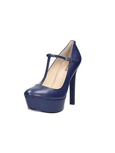 Guess Fleas4 Lea08 Zapatos De Salón Mujer Azul