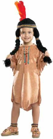 Indian Girl Childrens Costume Small ()