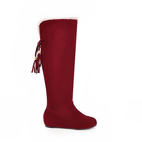 5 EU ABL09959 Rouge 38 Femme Sandales Red Plateforme Abl09959 BalaMasa xnwZzAq808