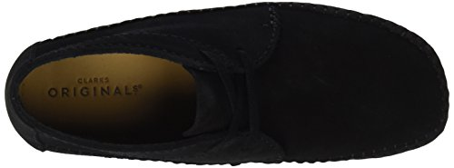 Clarks Originals Heren Chukka Boot Wever Zwart (black Sde)