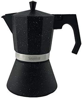 Wurko - Cafetera Aluminio Inducción Amaretto 12 Tazas: Amazon.es ...