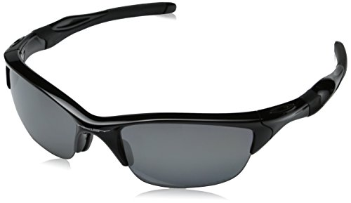 Oakley Mens Half Jacket 2.0 XL  OO9154-05 Polarized  Sunglasses,Polished Black Frame/Black Iridium Polarized Lens,one size
