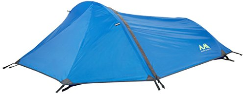 Arctic Monsoon Bivy Tent Portable Lightweight Durable Single Backpacking Sack, Blue
