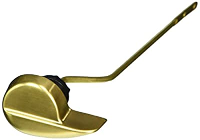 Jaclo 968-SB Toilet Trip Lever for Toto Bristol, Satin Brass