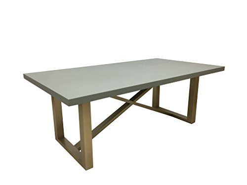 Perfect Abbyson Living RK 1943 TB Callie Zen Dining Table