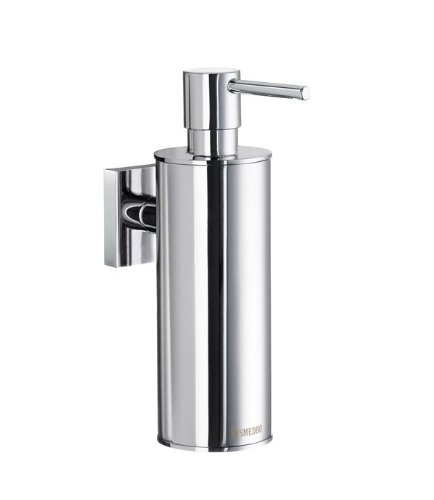 Smedbo House Soap Dispenser RK370 Polished Chrome .Include Glue.Fixing Without Drilling