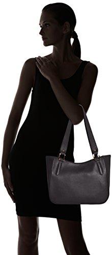 34x23x10cm Spalla Mano Nero Italia Elegante Pelle Borsa Ctm Made nero Vera A Donna In 100 gOqwgEIY