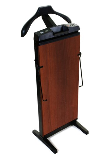 Freestanding Trouser Press - Corby Of Windsor 7700 Pants Press In Walnut