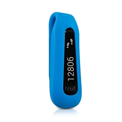 kwmobile Support clip pour Fitbit One en noir - clip pour le sport en silicone sans tracker