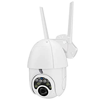 WiFi PTZ Security Camera Outdoor Indoor 1080P HD Home Surveillance Camera with Pan/Tilt 355° View Night Vision 2-Way Audio Auto Tracking Motion Detection IP66 Weatherproof