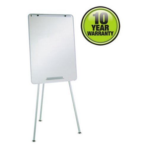 Quartet Oval Office Dry-Erase Easel, 70 Inch Height, Gray (Oval Dry Erase Board)