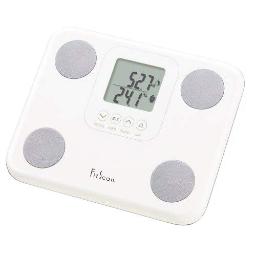 (Tanita BC-730F FitScan Body Composition Monitor Scale White)