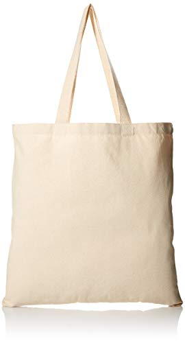 (1 Dozen - Heavy Cotton Canvas Tote Bag (Natural) by ToteBagFactory)