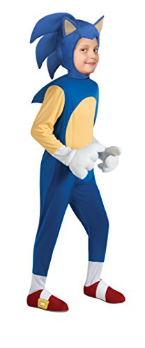 [Sonic Generations Sonic The Hedgehog Deluxe Costume - Large] (Sonic Hedgehog Costume Rental)