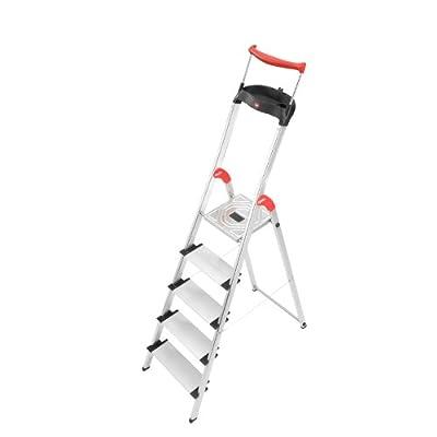 Hailo 8855-281 XXR 5 Step Aluminum Ladder