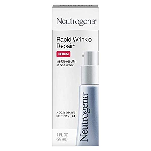 Neutrogena Rapid Wrinkle Repair Serum 1 oz (Pack of 2)