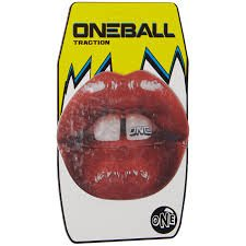 ONEBALL Lips Traction Stomp Pad by One Ball Jay