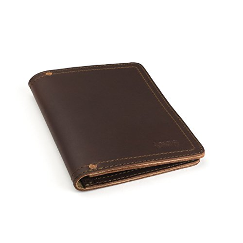 (Saddleback Leather Co. Business Notepad Holder Full Grain Leather Pad folio for Legal Pads, Tablets and Business Cards Includes 100 Year Warranty)