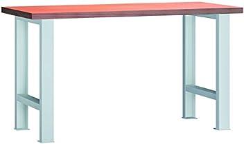 Metall-Meister Werkbank 1500x700x840 mm mit Ablageboden Modell WS503N-1500M40-X1580