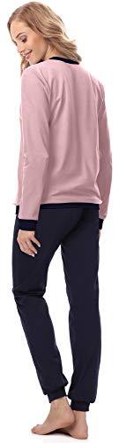 Rosa Merry MS10 Donna Pigiama Style Polvere 167 Blu Scuro q7rY7fnSxw