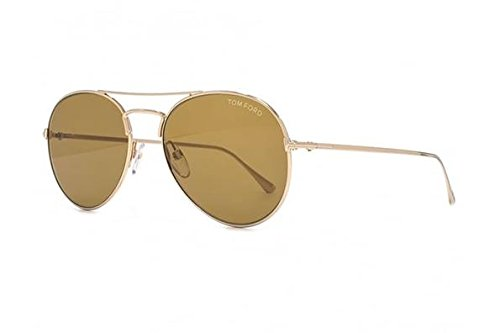 Sunglasses Tom Ford ACE- 02 TF 551 ACE- 02 FT 0551 ACE- 02 28E shiny rose gold / - Tom Ford Ace