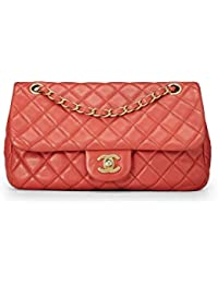af71ddfae76a Cerise Quilted Lambskin Charms Flap Bag Small (Pre-Owned) · CHANEL