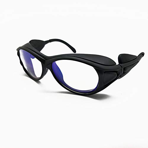 2x Industrial Laser Protection Safety Glasses Goggles for 1064nm YAG Laser OD5+ ()