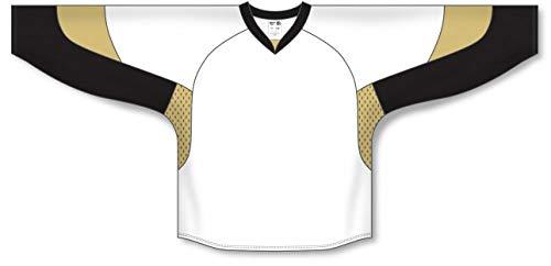 - 2010 Pittsburgh White Pro Plain Blank Hockey Jerseys