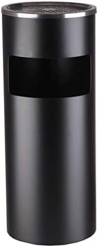 キッチンゴミ箱 無料立ちステンレス屋外ダスト酷いビンタバコの灰皿は1つのメタル酷いビンタバコ灰皿スタンドに立ち灰皿ビン、2スタンド ごみ収集