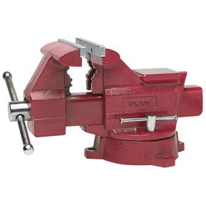 Wilton 191 656HD 6-Inch Jaw Width by 6-Inch Opening Utility Workshop Vise ()