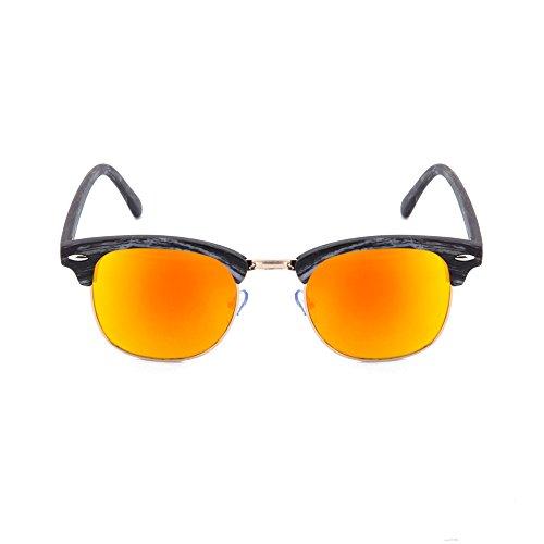 sol hombre de Arancio Gafas DEGAS estilo madera TWIG Ebano mujer 5BxgxYw
