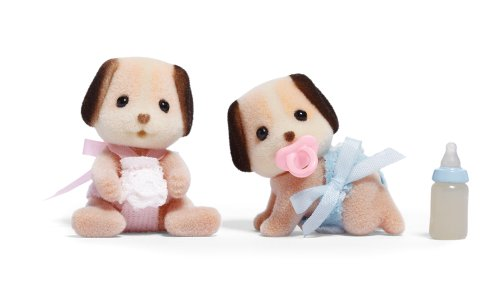 International Playthings Calico Critters: Beagle Dog Twins