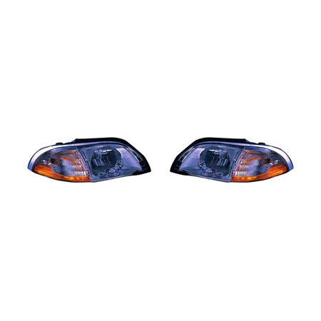 Ford Windstar Headlight Assembly - Fits Ford Windstar 2001-2003 Headlight Assembly Pair Driver and Passenger Side FO2502178, FO2503178