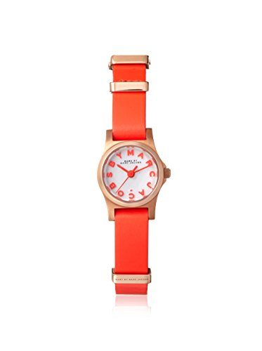Marc by Marc Jacobs Women's MBM1315 - Henry Dinky Infra Red/Rose Gold ()
