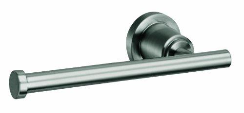 House Chrome Satin (Design House 560383 Geneva Toilet Paper Holder, Satin Nickel)