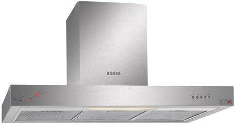 Edesa ZEN-BOX71X - Campana (Canalizado/Recirculación, 780 m³/h, 72 Db, Montado en pared, Incandescente, Acero inoxidable): Amazon.es: Hogar