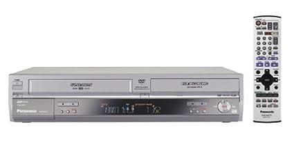 amazon com panasonic dmr e75vs progressive scan dvd recorder vcr rh amazon com panasonic dmr ez47v manual panasonic dmr ez48v manual pdf